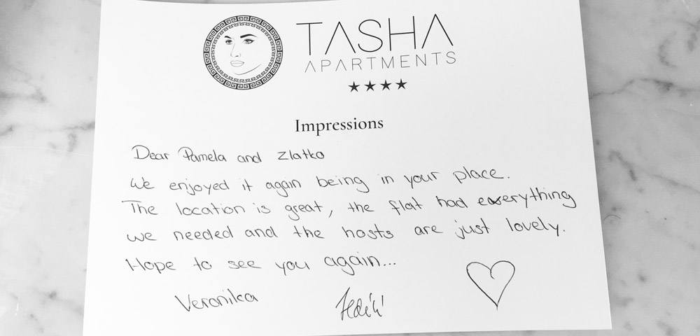 Apartments Tasha | Tko jednom dođe na Lošinj...