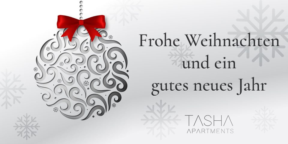 Apartments Tasha | Frohe Weihnachten und ein gutes neues Jahr